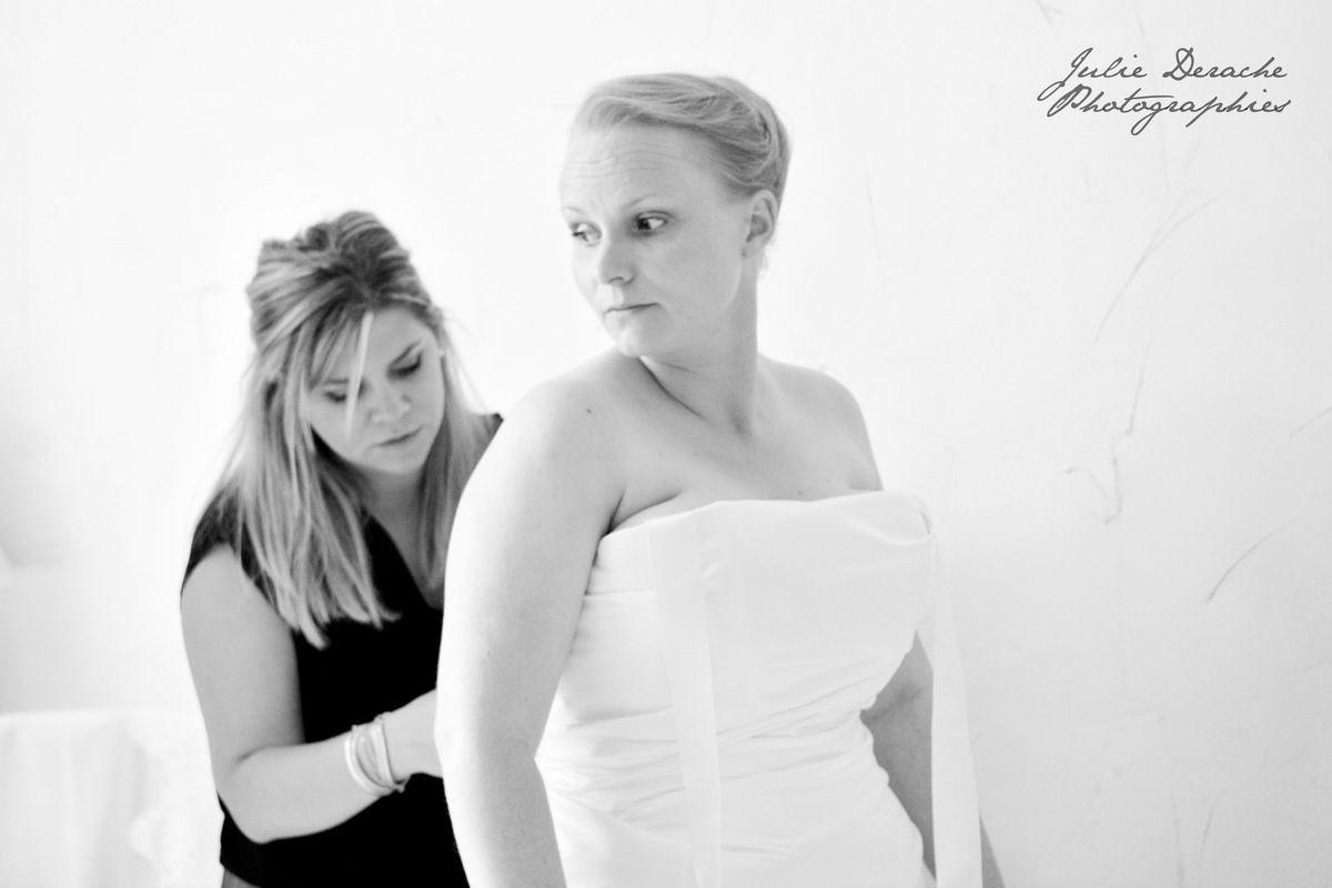 Habillages de la mariée