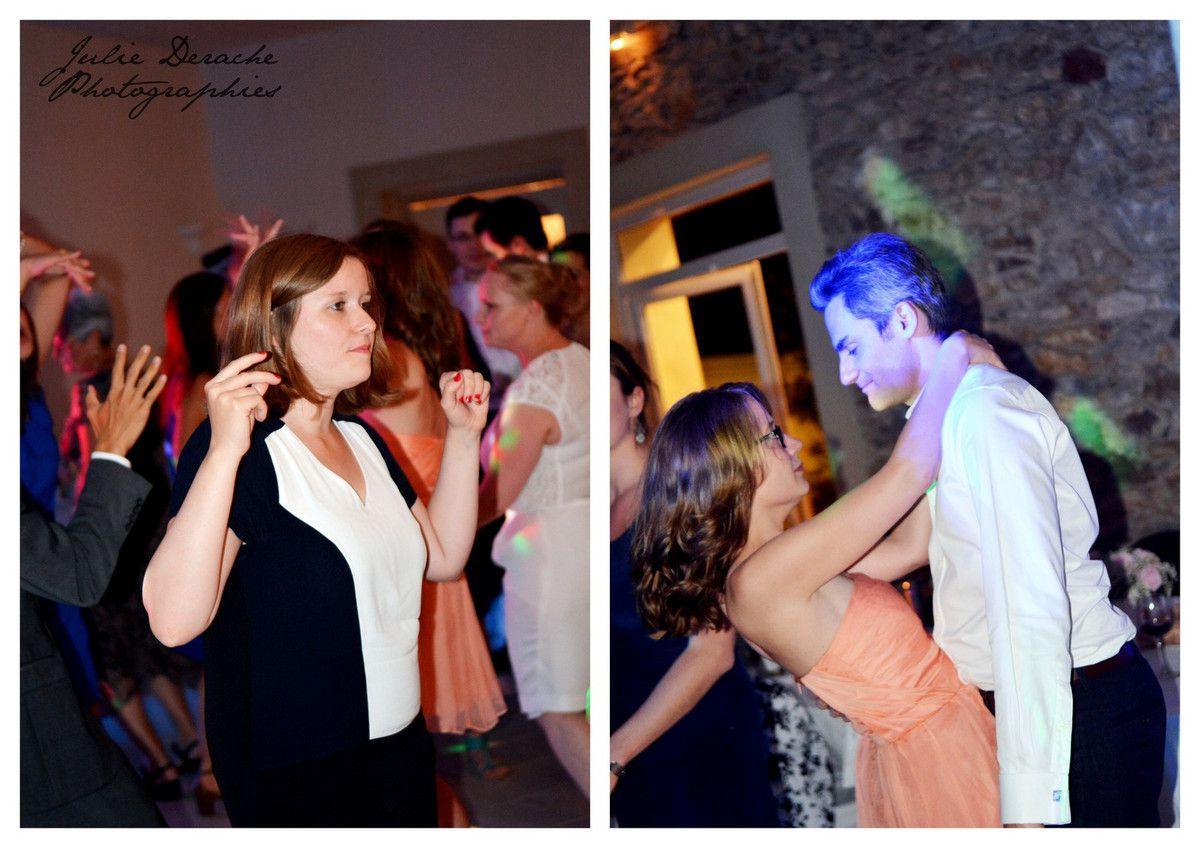 Première danse des mariés et Pièce montée