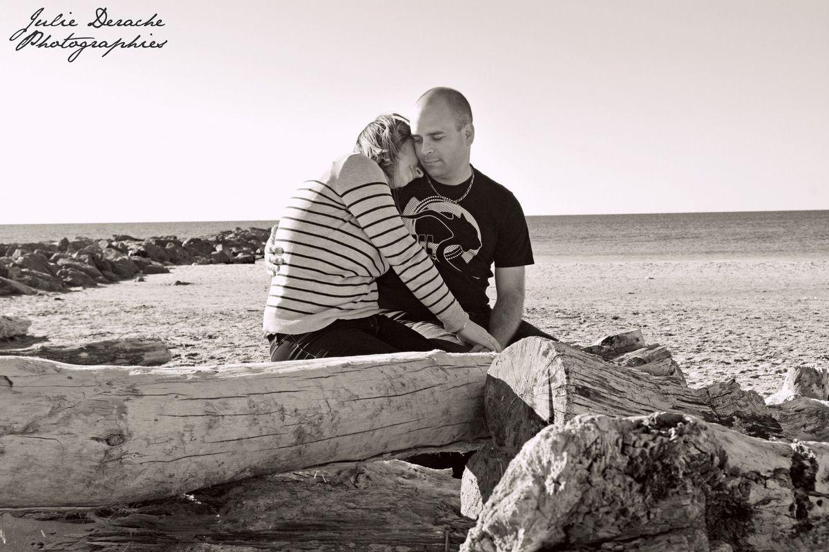 Love session sur la plage
