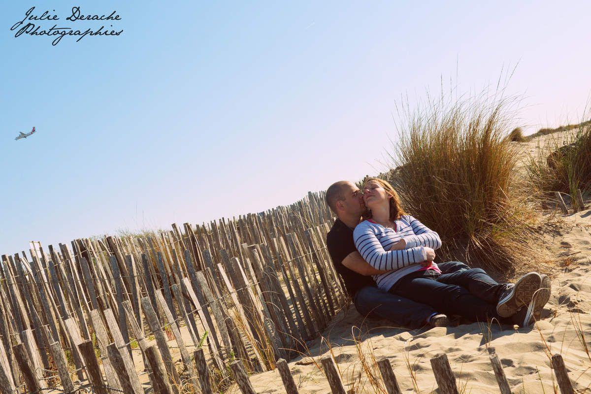 En amoureux dans les dunes