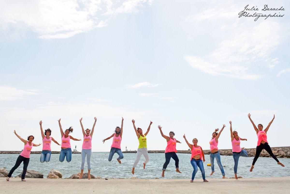 Un EVJF plein de peps à la plage ! | Photographe EVJF Montpellier