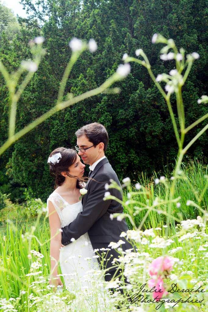 Découverte des mariés et photos de couple sous le signe du rire !