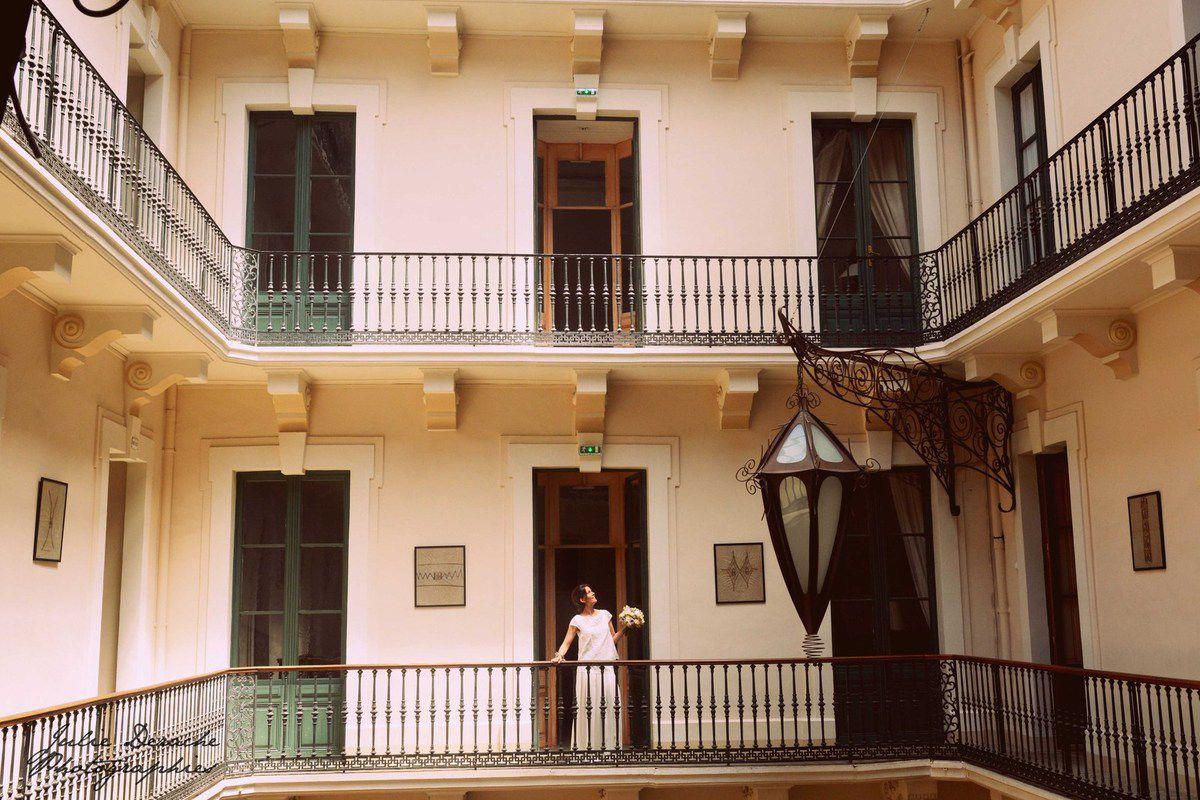 Mathilde, une jolie mariée à Sète...