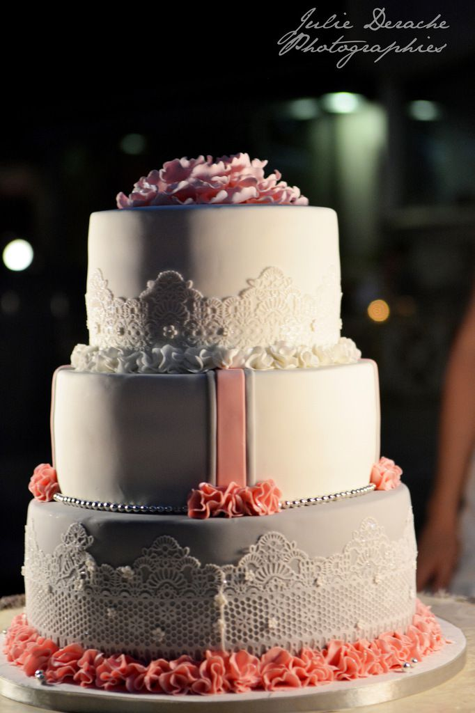 Le wedding cake by Nina Couto !