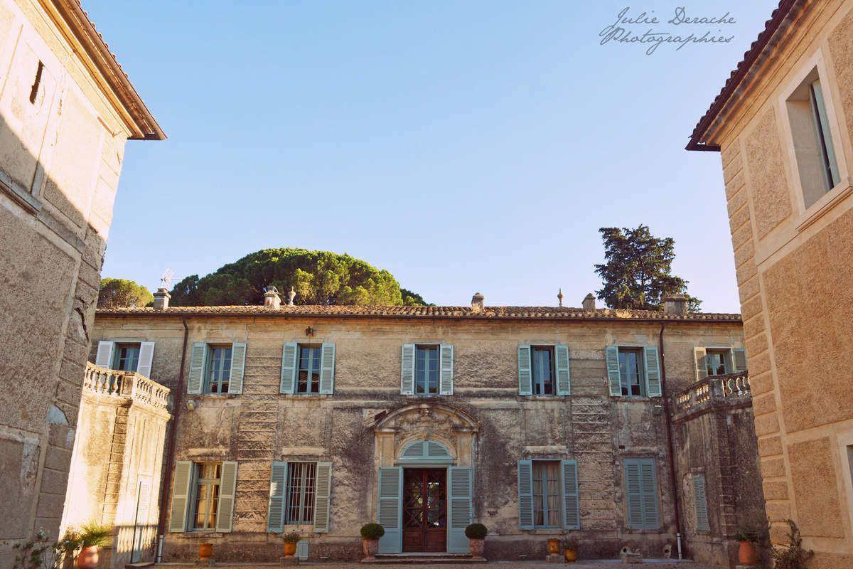 Joli mariage au Château de la Mogère