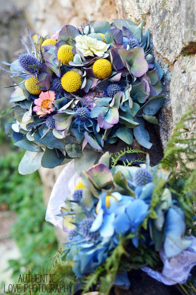 Bouquet de mariée, Bouquets de demoiselles d'honneur, Couronne de fleurs, boutonnière