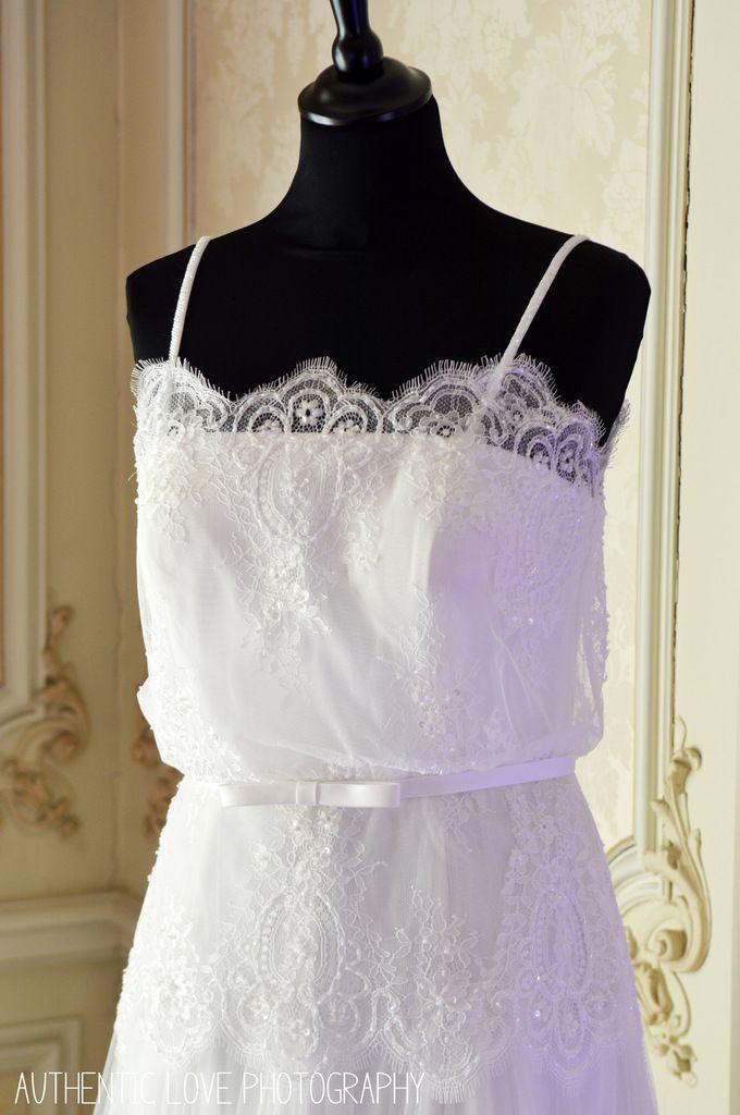 Les jolies robes Clara Rosa de Blanc Poudré