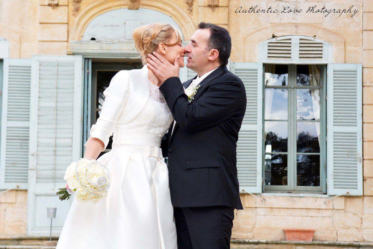 Mariage en hiver au Château de la Mogère