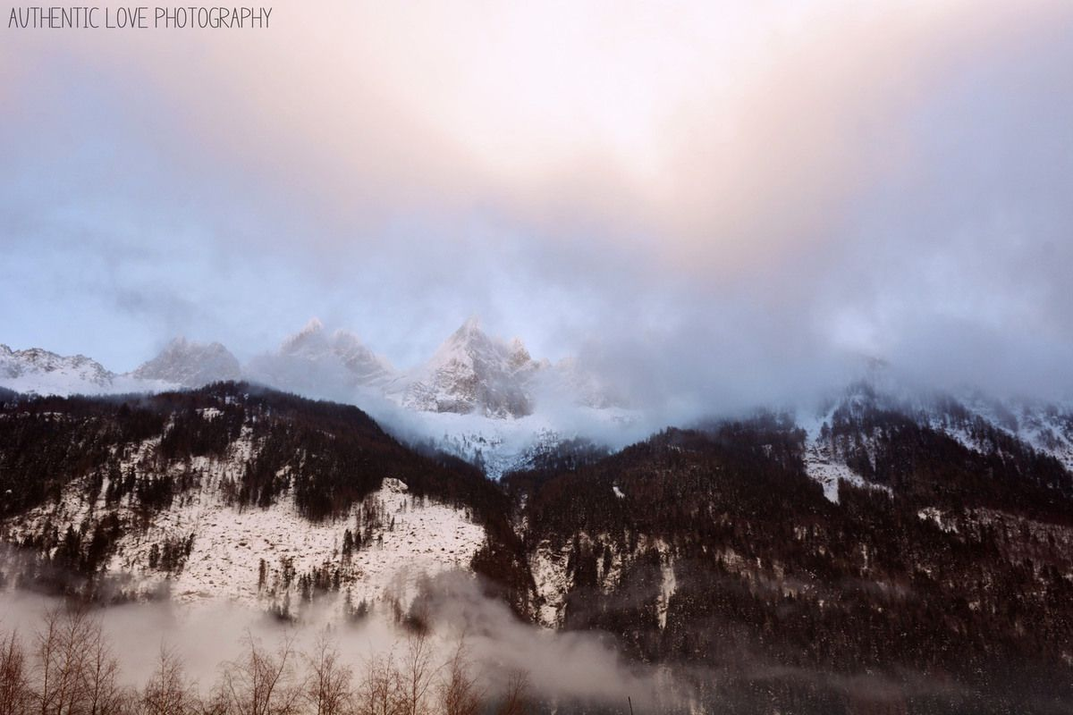 La beauté de Chamonix et ses superbes panoramas... J'adore toujours autant !