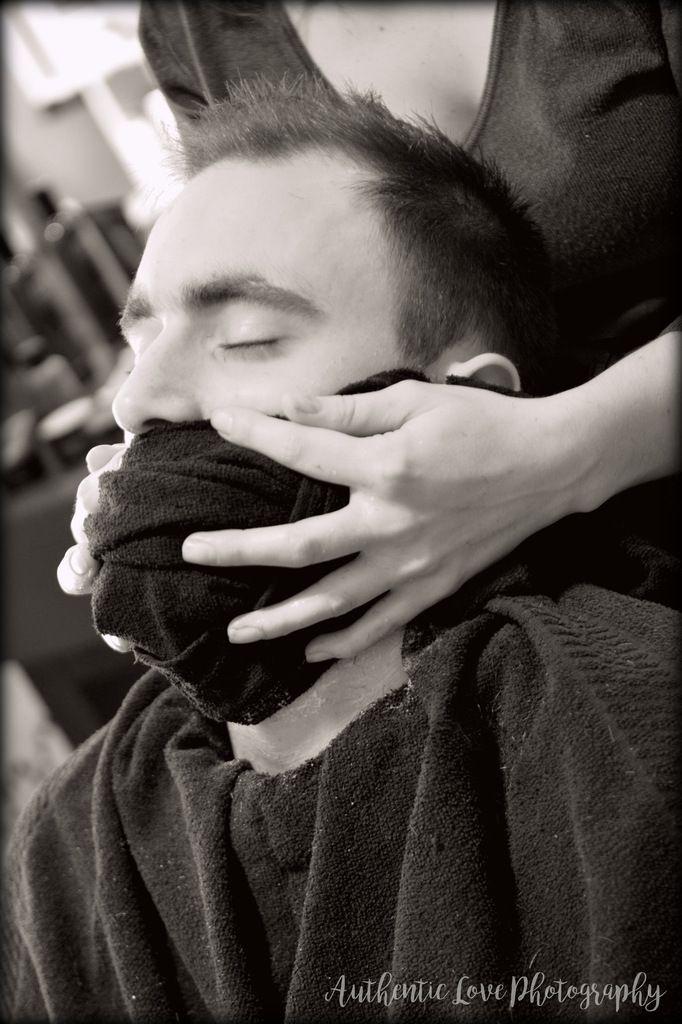 Coup de coeur de la semaine : aller chez le barbier pour son mariage