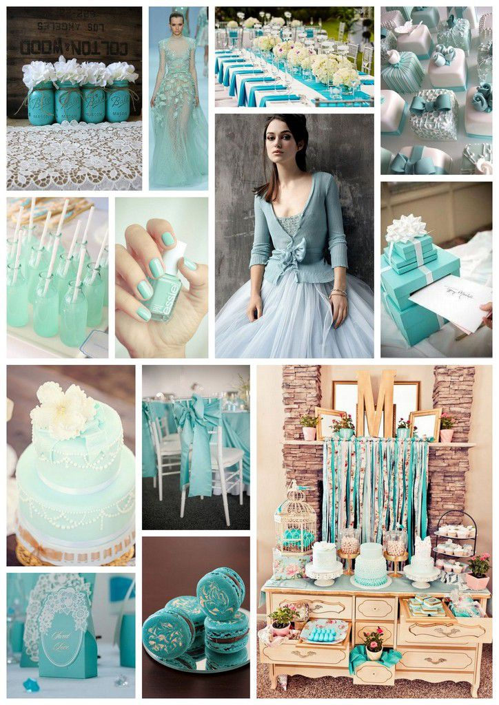 Coup de coeur de la semaine : un mariage bleu Tiffany