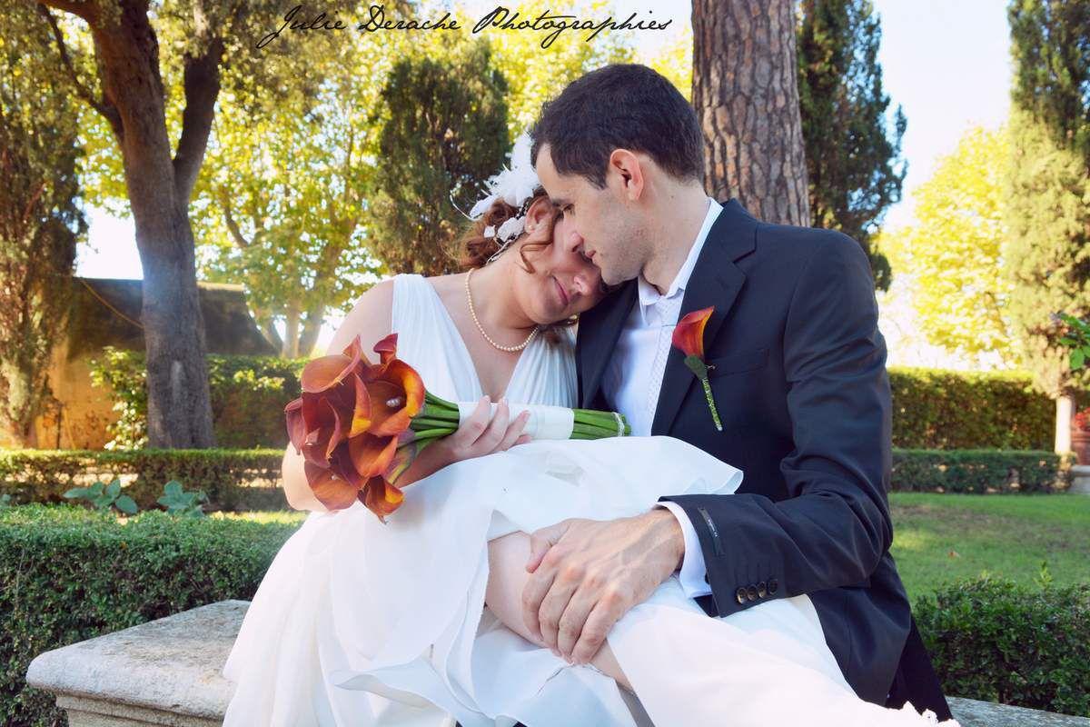Stéphanie + Kévin, mon premier mariage au Château de la Mogère, voici quelques années maintenant !