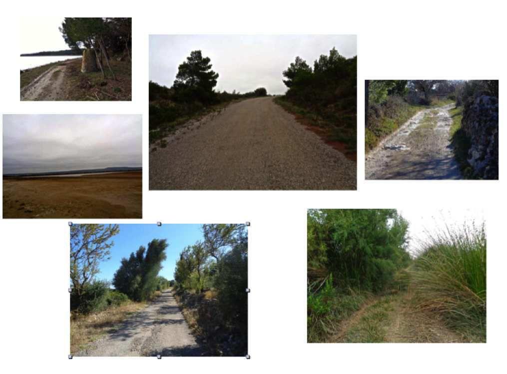 Les différents type de terrains &quot&#x3B;gravel&quot&#x3B; en Languedoc-Roussillon