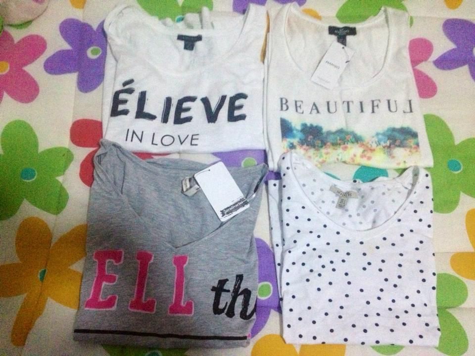 Spring Haul of printed T-shirts
