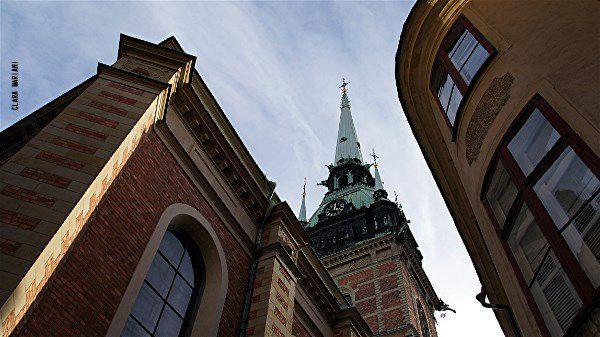 L'église allemande de Tyska Tyrkan (fin XVIe siècle) - Gamla Stan