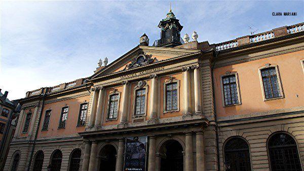 L'Académie Suèdoise  (Académie Nobel)  Place Stortorget - Gamla Stan.