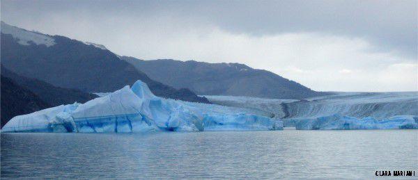 L'Upsala - Cordillière des Andes - Patagonie.