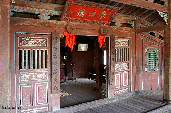 L'entrée de la pagode.