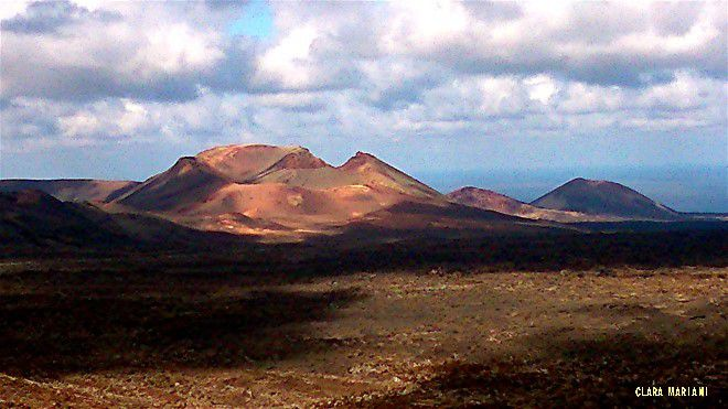 Lanzarote a été engloutie sous 8 milions de mètres cubes de lave et de cendres volcaniques.