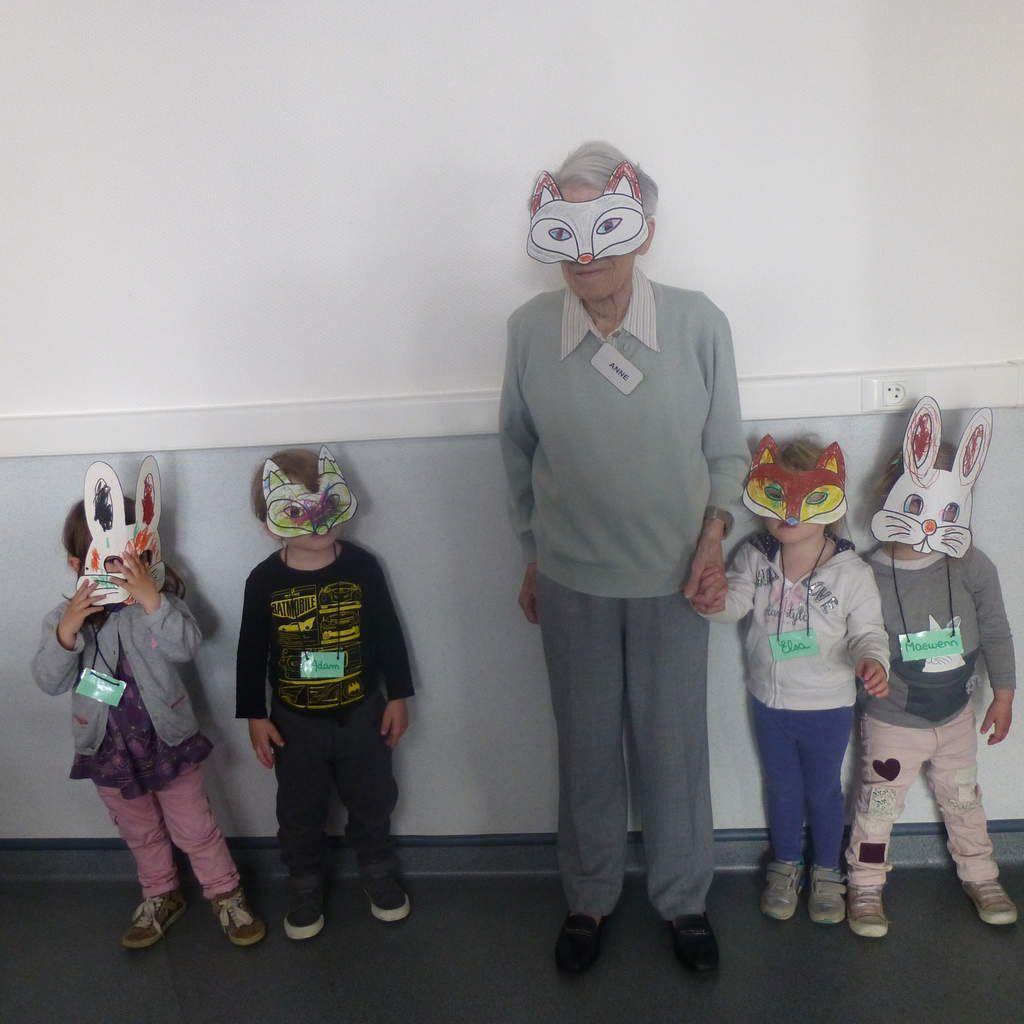 Décoration de masques avec Enfants de Pom'Cannelle 21042017