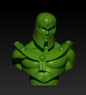 Sculpture: Magneto, test Zbrush
