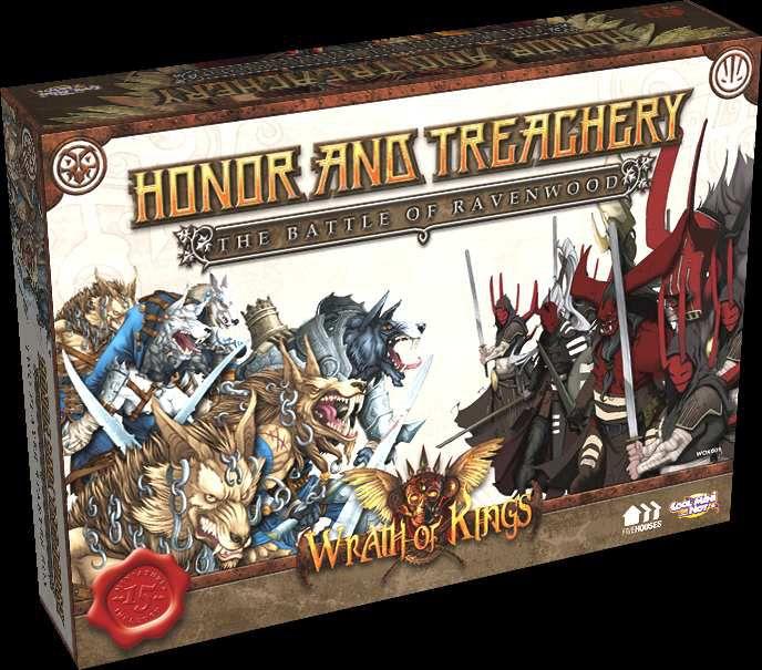 Commission: Goritsi Wrath of Kings,Honor and Treachery: The Battle of Ravenwood, Cool Mini or Not
