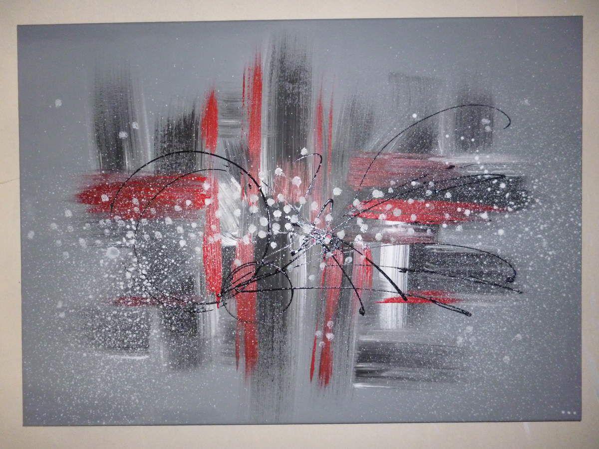 Tableau graphique acrylique sur coton lesateliersdebichette for Tableau portrait noir et blanc