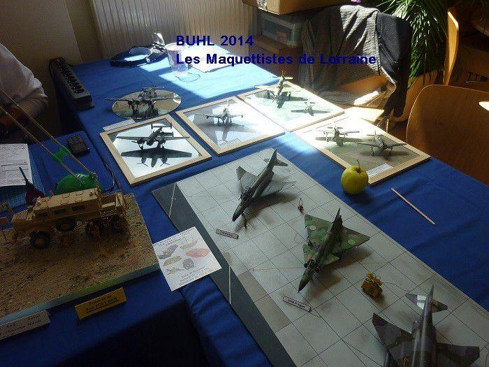 BUHL 2014 - PHOTOS avions , chars , bateaux