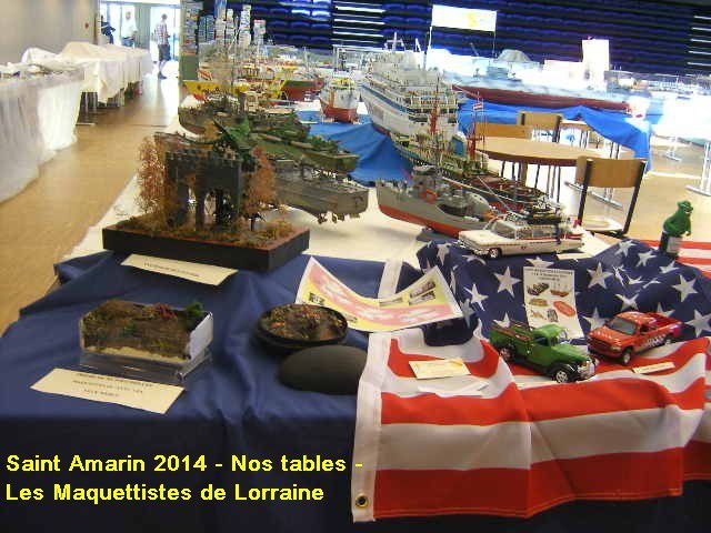 SAINT AMARIN 2014 - NOS TABLES -