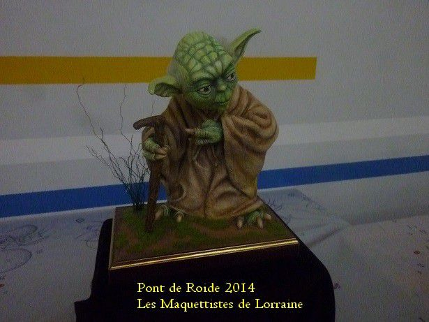 EXPOSITION - PONT DE ROIDE - 2014 - FIGURINES -