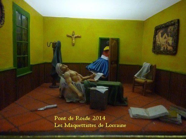 EXPOSITION - PONT DE ROIDE - 2014 - FIGURINES -