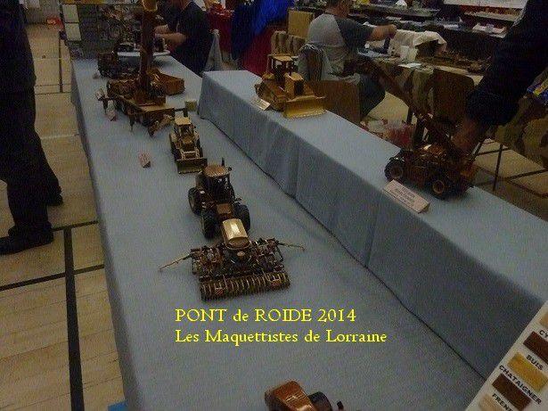 EXPOSITION - PONT DE ROIDE - 2014 - VOITURES - CAMIONS  -