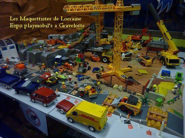 INVASION de PLAYMOBIL' S a GRAVELOTTE