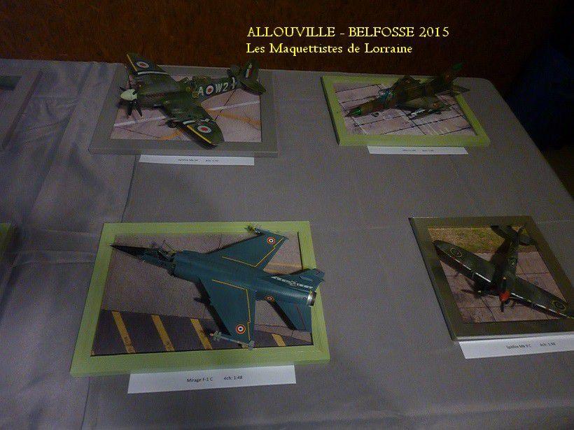 ALLOUVILLE - BELFOSSE - 4 , 5 et 6 AVRIL 2015 - 2 ième partie