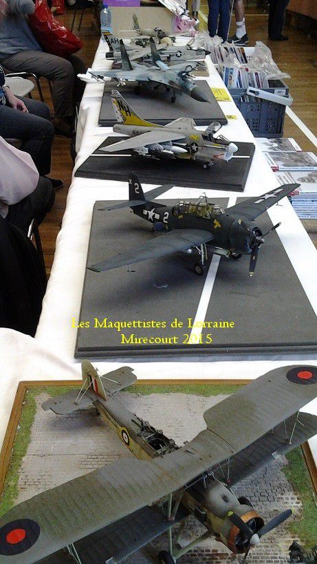 EXPOSITION MAQUETTES 2015 a MIRECOURT