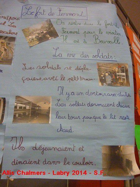 Le SOUVENIR  FRANCAIS  a LABRY 2014