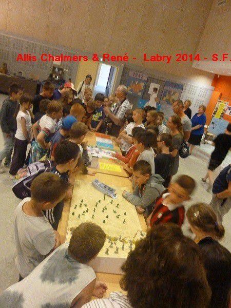 Le SOUVENIR  FRANCAIS  a LABRY 2014  - SUITE et FIN --