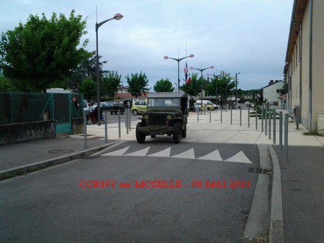 COMMEMORATION a CORNY sur MOSELLE du 08 mai 2015
