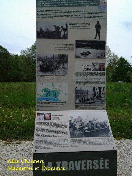 Parcours historique de la bataille de Dornot/ Corny - 1944