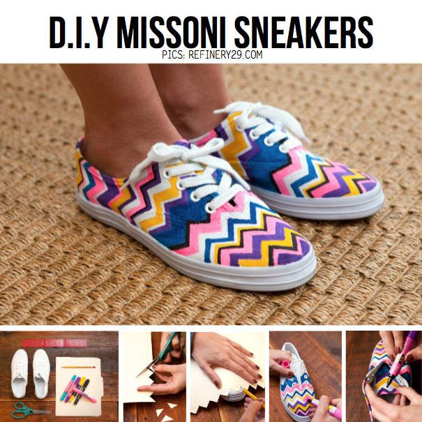 D.I.Y customiser ses chaussures