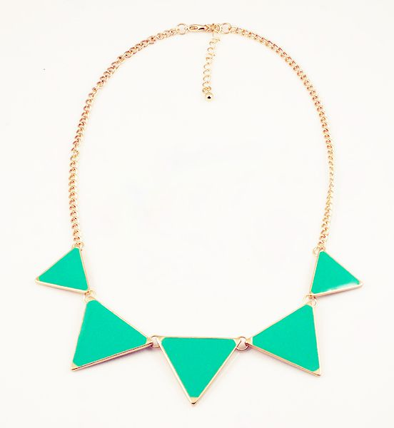 D.I.Y collier triangle