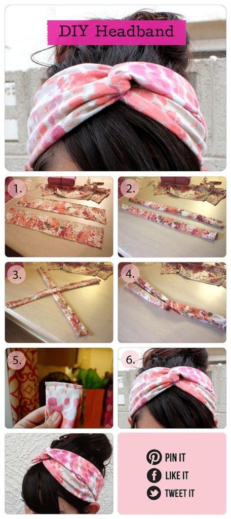 D.I.Y headband