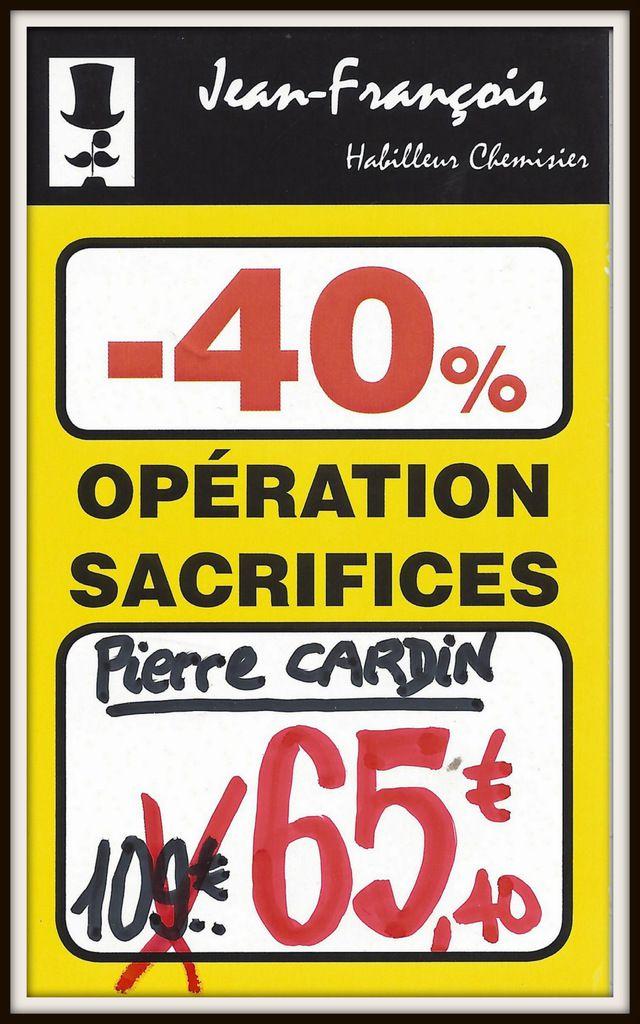 PROMO - 40% sur les Jean's Pierre CARDIN