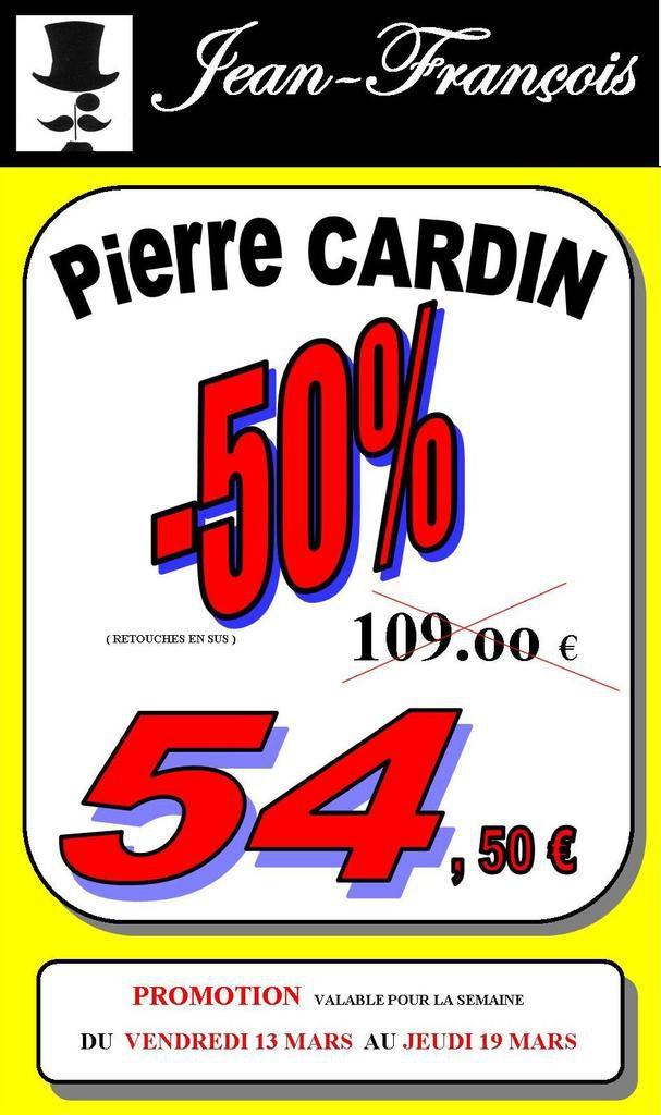 PROMOS Jean's Pierre CARDIN -50%