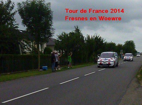 TOUR de FRANCE - 2014 - PUBLICITE 1 -