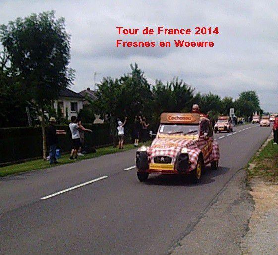 TOUR de FRANCE - 2014 - PUBLICITE 2 -