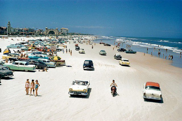DAYTONA BEACH en 1957