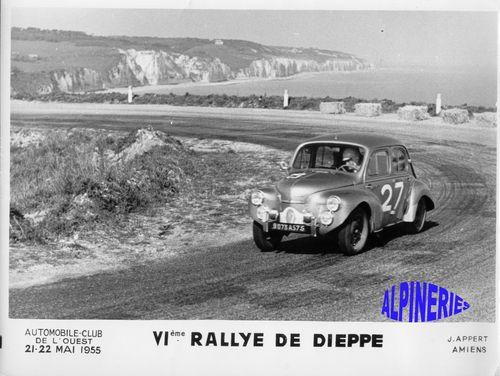 RALLYE de DIEPPE - 1955 -