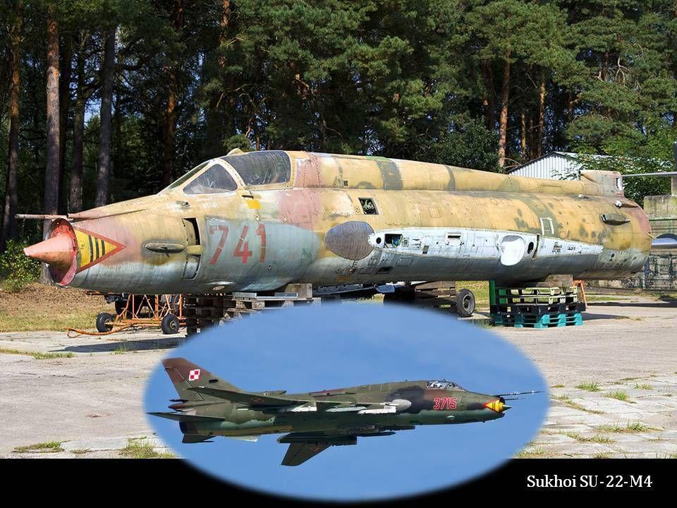 Epave de SUKHOI SU - 22 - M4