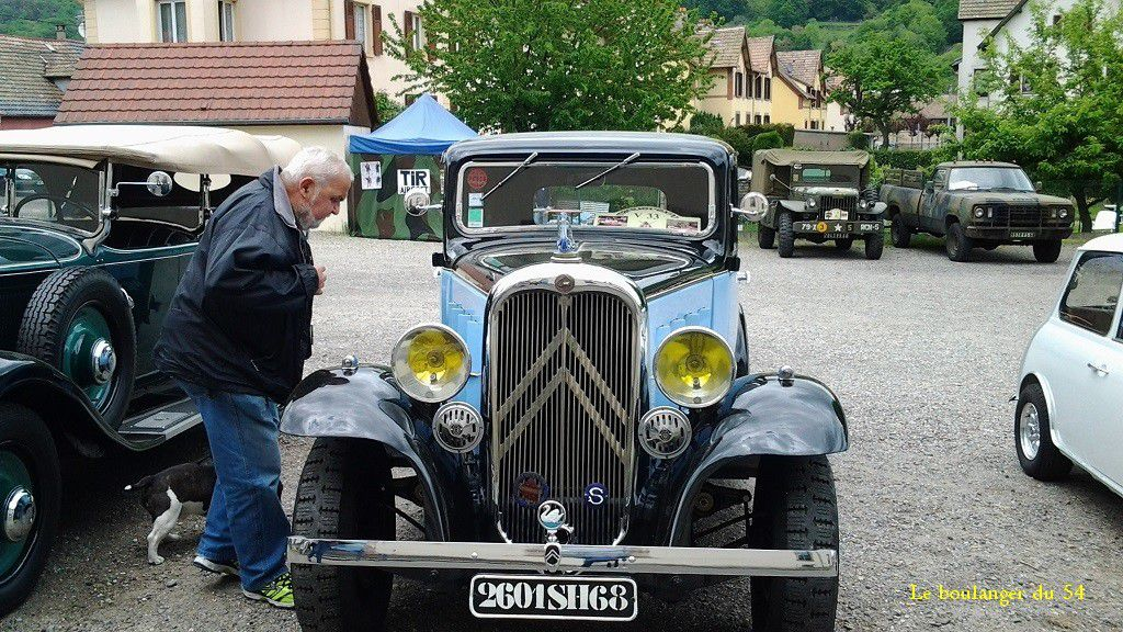 VOITURES ANCIENNES a BUHL - 68530